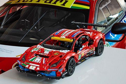 Lego Technic Ferrari 488 GTE Hasil Kolaborasi dengan Ferrari
