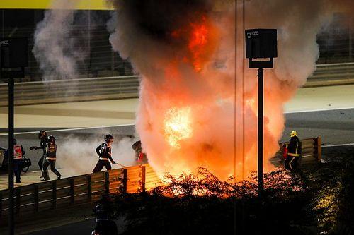 F1, Bahrain: Grosjean miracolato tra fiamme e rail!