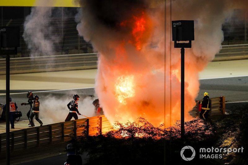 Ricciardo Muak Tonton Video Kecelakaan Grosjean