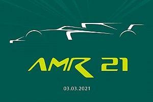 Aston Martin озвучила имя своего болида Формулы 1