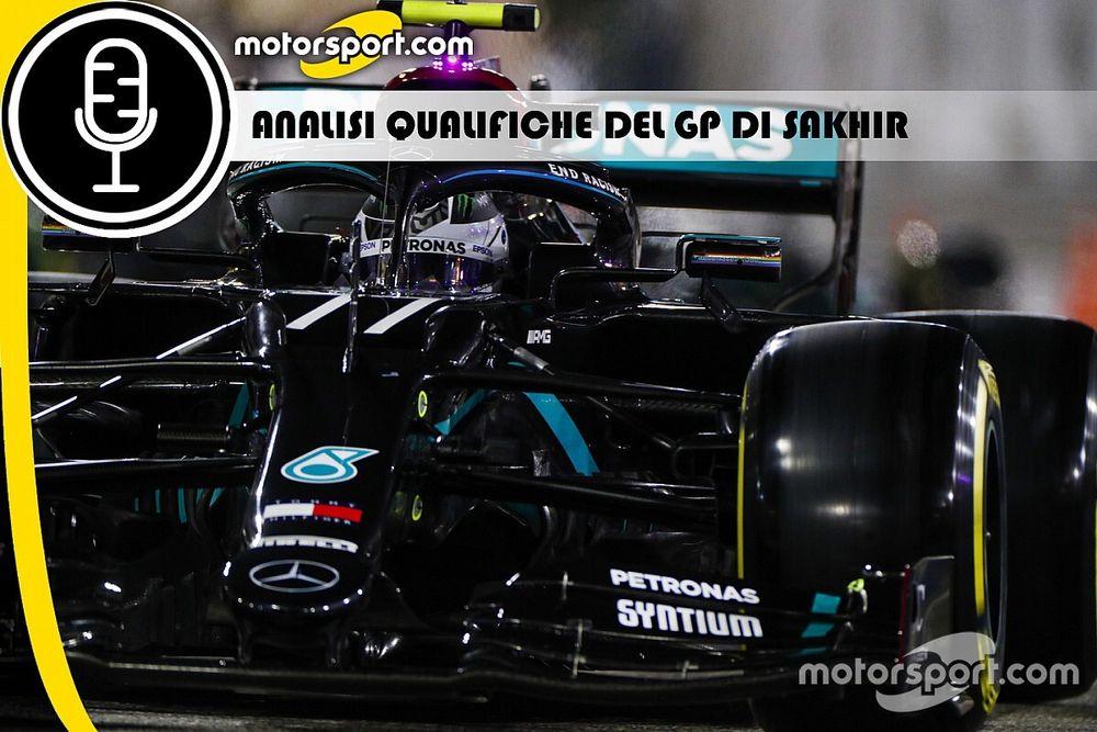 Podcast F1: analisi delle Qualifiche del GP di Sakhir