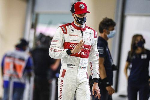 Giovinazzi tevreden met derde F1-seizoen naast ervaren Raikkonen