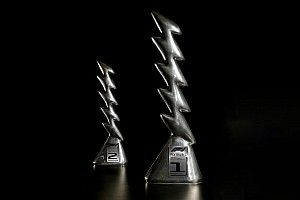 Los trofeos del GP Emilia Romagna de F1 inspirados en Zeus
