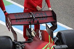 Технический брифинг: заднее крыло Ferrari SF21 в Имоле
