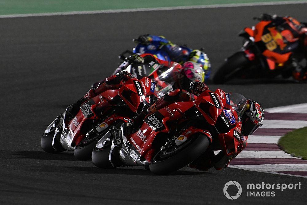 Ducati not worried by missed Qatar MotoGP wins