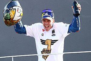 """MotoGP-wereldkampioen Mir: """"Voelde het hele jaar veel druk"""""""