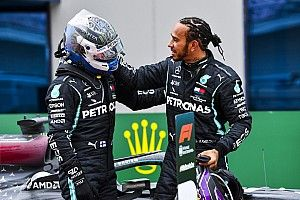 """Bottas explica """"desastre"""" no GP e promete luta contra Hamilton pelo título em 2021: """"Vou tentar batê-lo"""""""