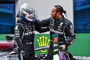 Hamilton: Bottas doesn't need to defend his 2020 performances
