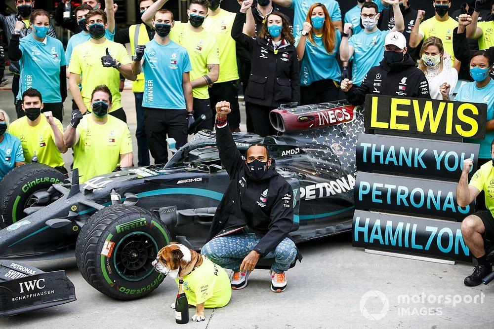 Brawn: Schumacher en Hamilton delen door God gegeven talent