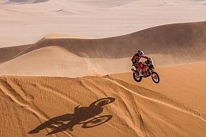 Fotogallery Dakar 2021: l'anello di Wadi Ad-Dawasir