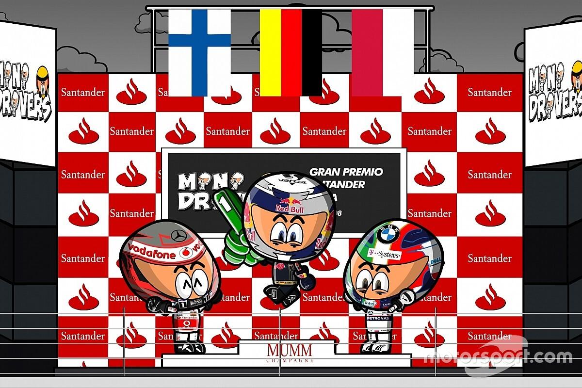 Vídeo: los MiniDrivers recuerdan el GP de Italia de F1 2008