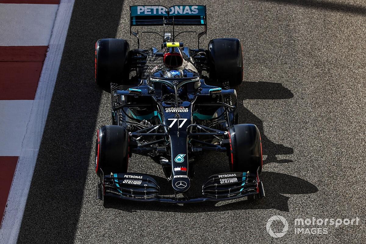 Bottas az élen az FP2-n, Hamilton és Verstappen a top-3-ban