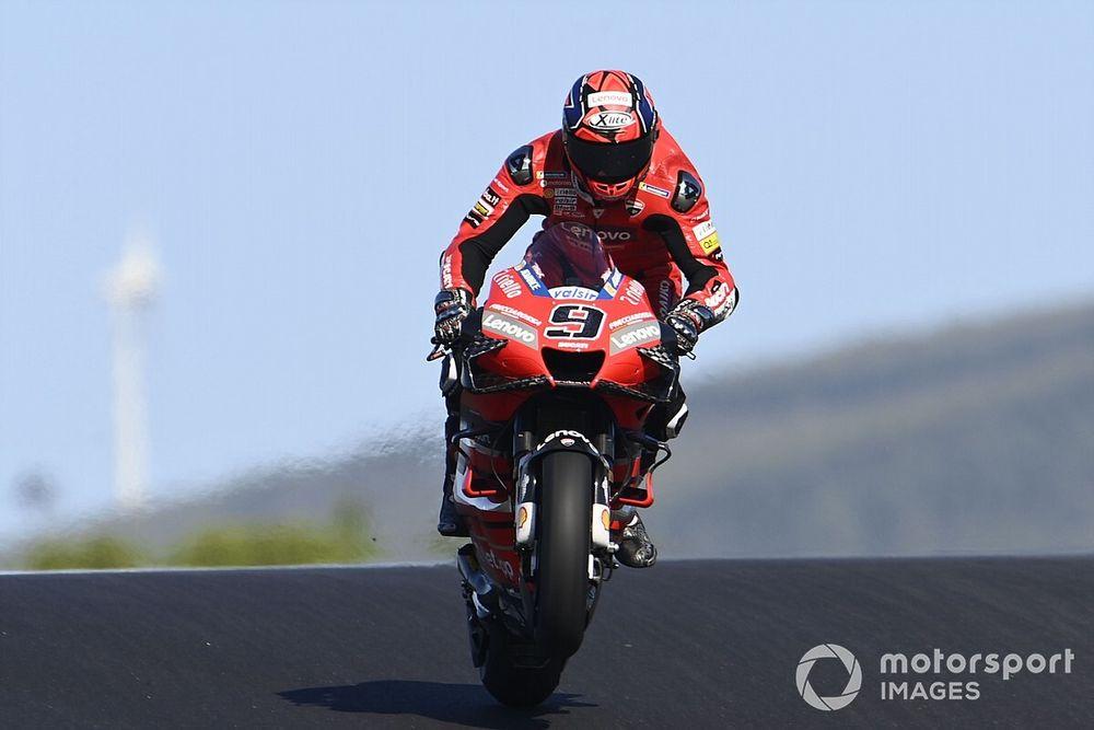 Petrucci agradece a Ducati por no renovarle
