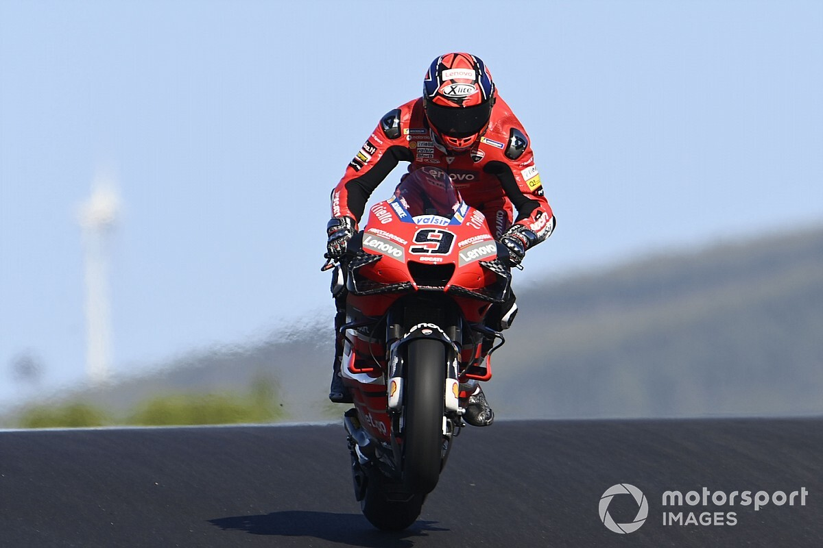 "Petrucci ""happy"" Ducati fired him when it did"