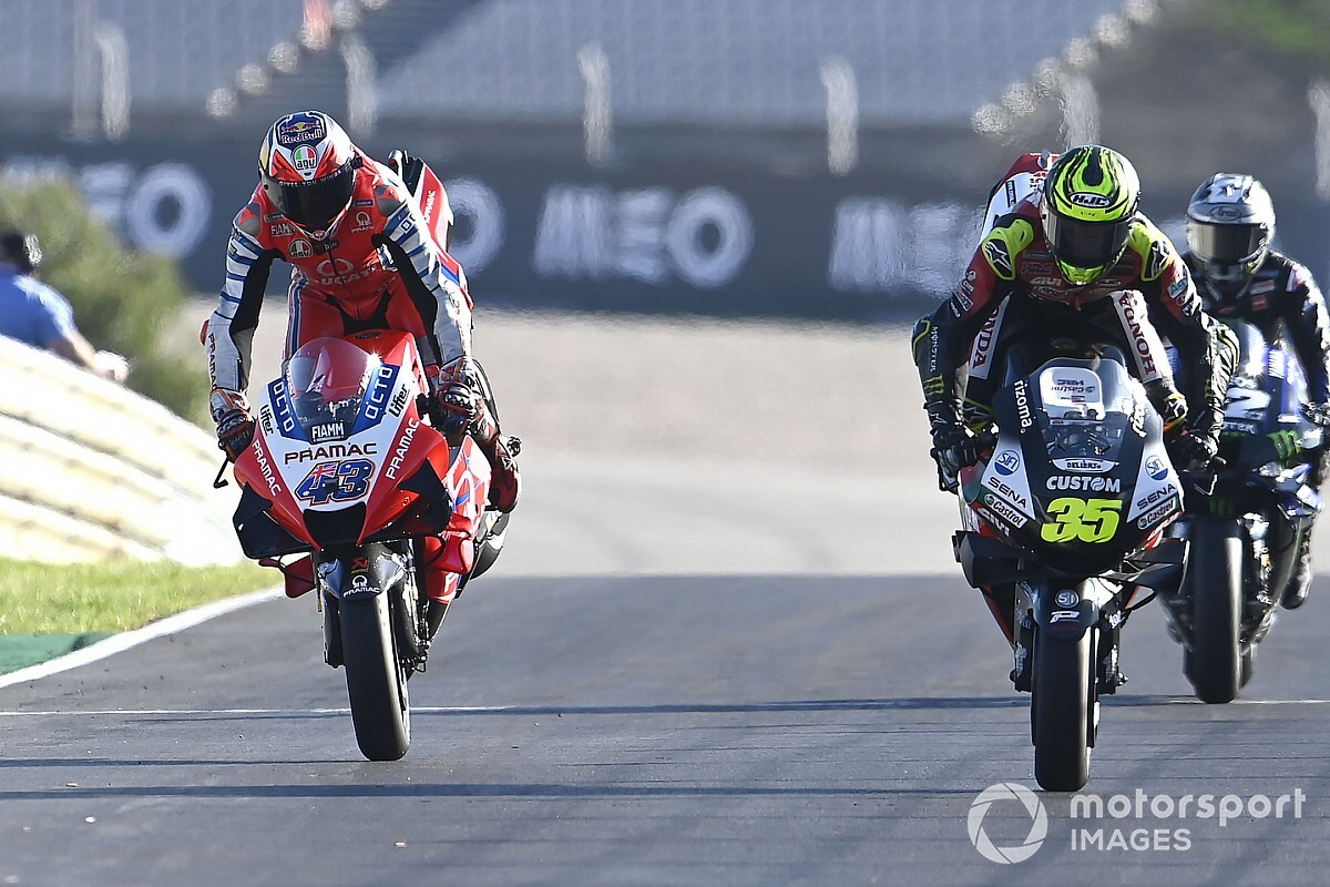 "Crutchlow: Important to finish ""emotional"" last MotoGP race"