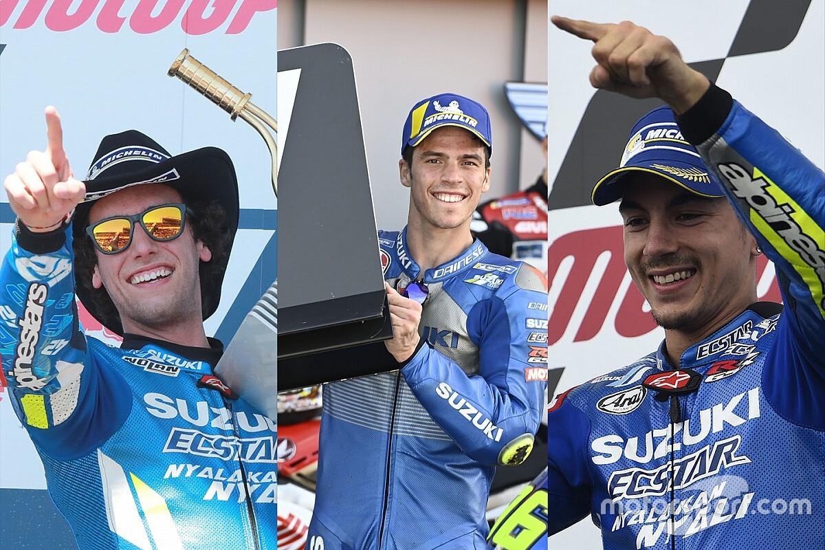 Suzuki, la meilleure pépinière de talents du MotoGP