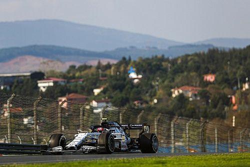 Volledige uitslag eerste training F1 Grand Prix van Turkije