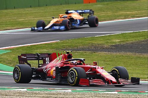 Sainz: Ferrari kan McLaren op bepaalde circuits verslaan