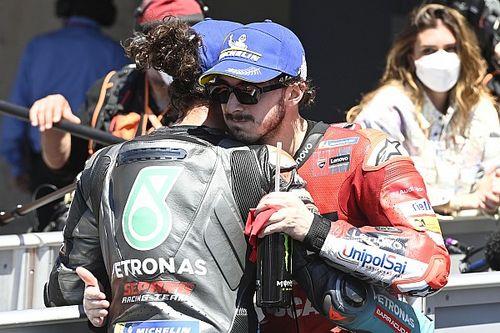 Pour Rossi, Bagnaia et Morbidelli sont prêts à jouer le titre