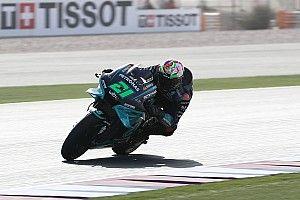Qatar MotoGP: Morbidelli tops FP3, champion Mir misses Q2