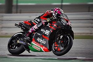 "Aprilia proved pre-season form ""not a joke"" in Qatar"