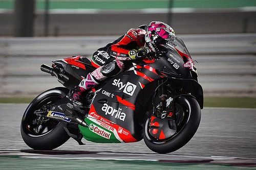 "Aprilia proved pre-season form ""not a joke"" in Qatar"
