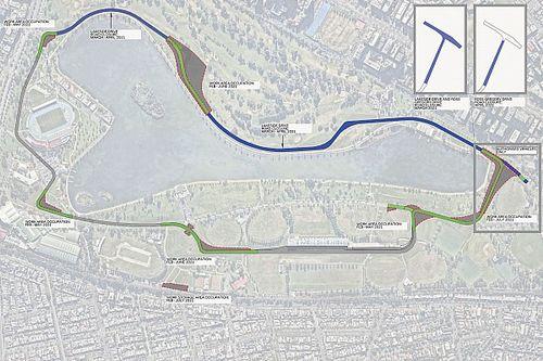 El circuito de Albert Park cambiará para la F1 2021