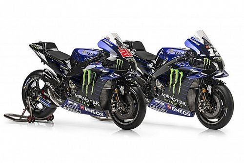 Fotogallery MotoGP: la Yamaha M1 2021 di Quartararo e Vinales
