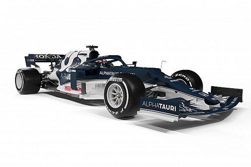 AlphaTauri: l'AT02-Honda cambia nell'anteriore