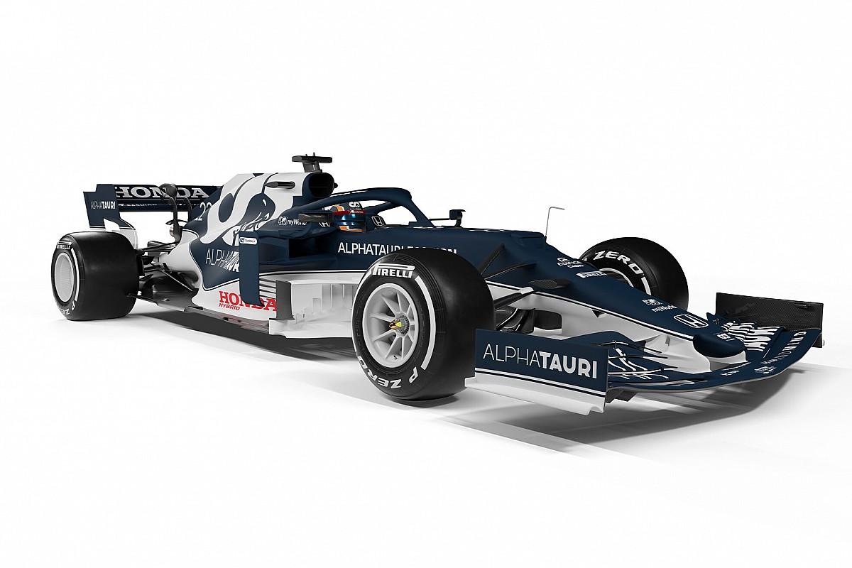 AlphaTauri представила болид для нового сезона Формулы 1