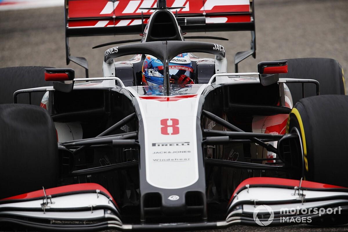 Haas ne pourra pas offrir de test d'adieux à Grosjean