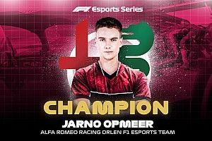 Bereznay dobogóval, Opmeer bajnoki címmel zárta az F1 Esports Pro Series 2020-as szezonját!