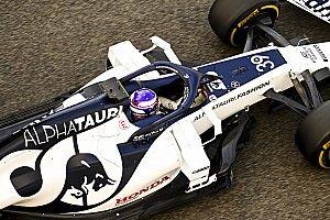 佐藤万璃音、初のF1ドライブを楽しむも「全力は出し切れなかった」