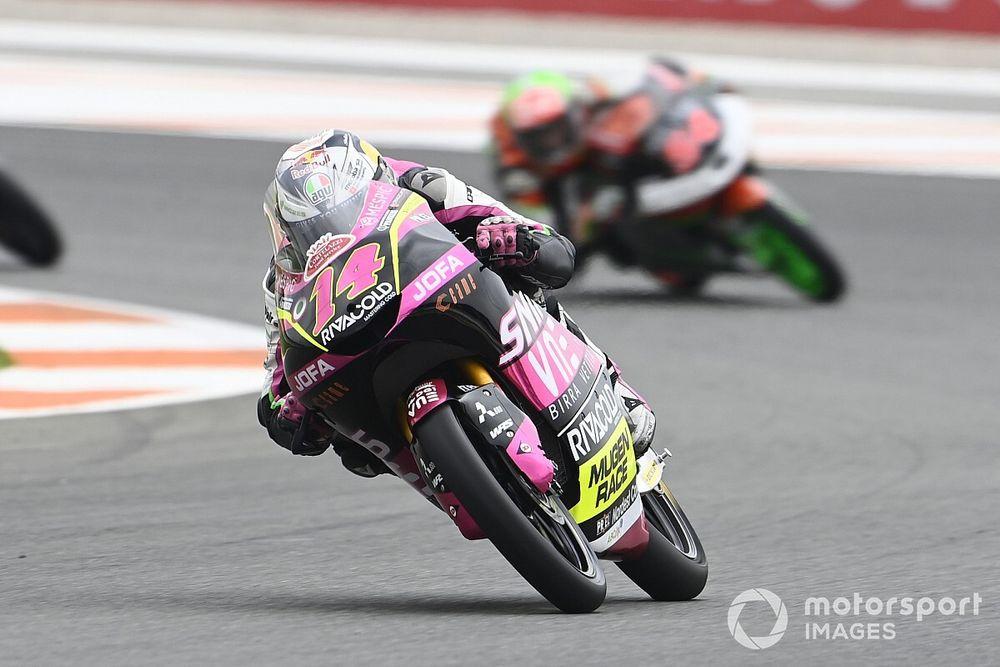 Moto3 - Valencia: Arbolino gana y se mete de lleno en la lucha por el título; Arenas, 4º