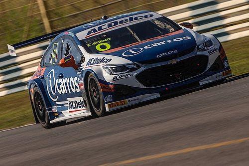Stock Car: Cacá Bueno celebra competitividade após ficar a 0s009 de liderança em treino