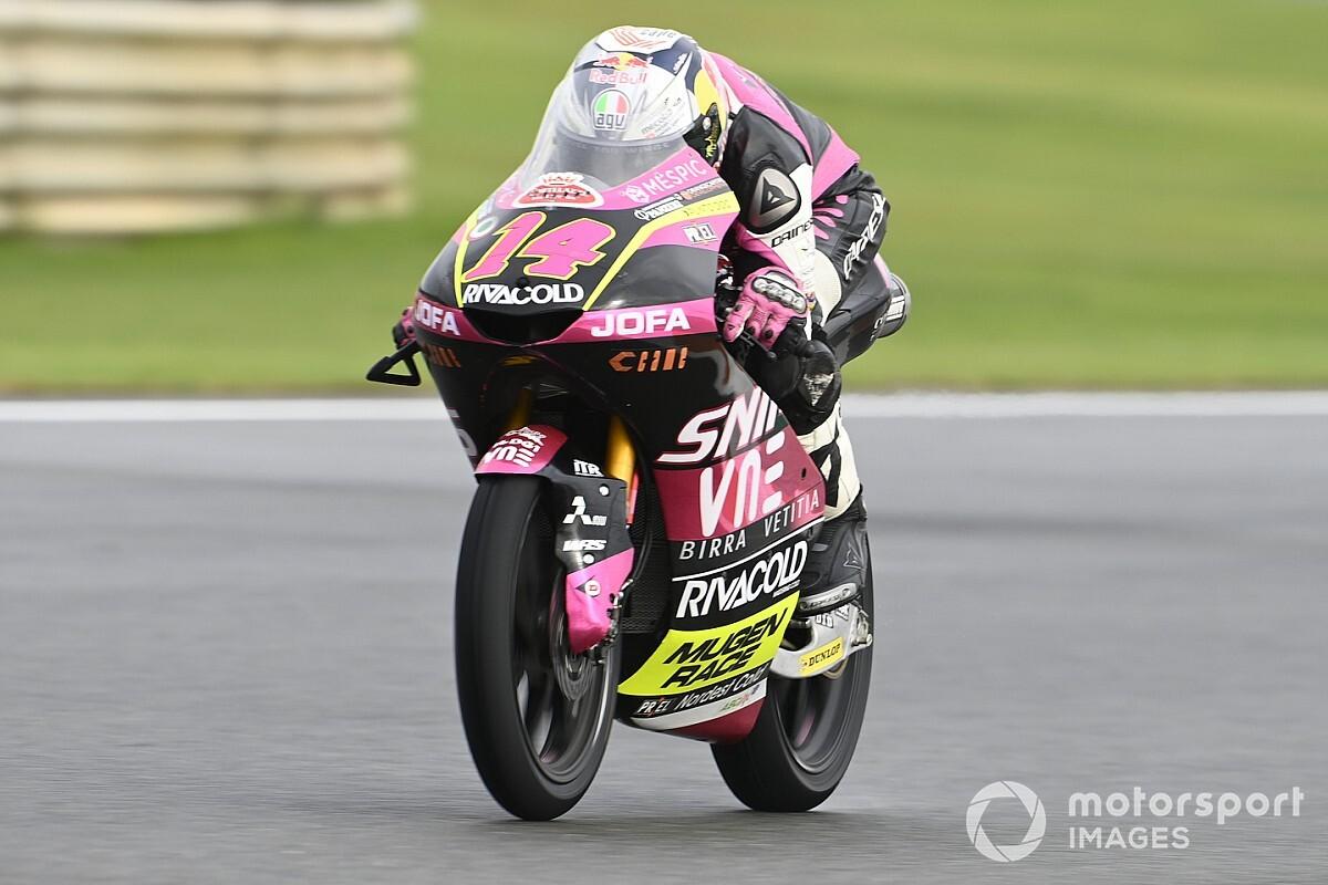 Moto3, Valencia, Libere 1: Arbolino in testa con record