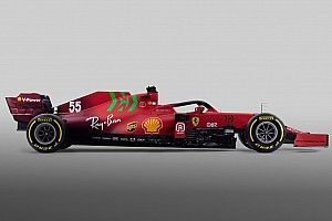 Ferrari SF21: opaca e sfumata con l'inedito verde... speranza?