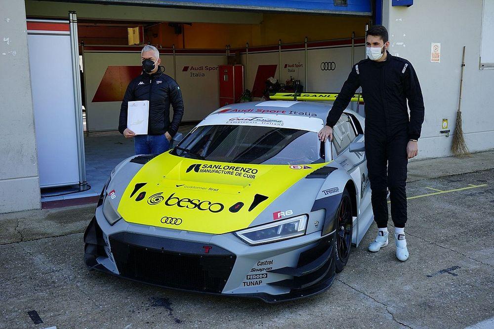 GT Italiano: Postiglione con Morricone e Salaquarda sull'Audi