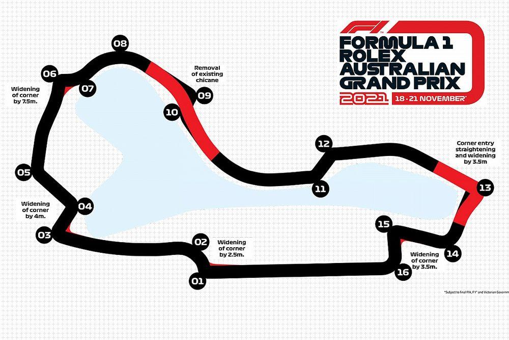 F1: Novo traçado do GP da Austrália promete voltas até 5 segundos mais rápidas