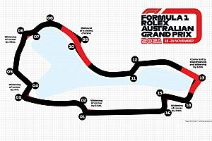 New Albert Park layout will be five seconds faster