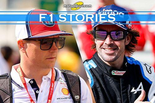 Alonso e Raikkonen: gli ultimi... V10 della Formula 1