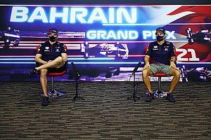 """Verstappen: """"Con Sergio Pérez vamos en la misma dirección"""""""