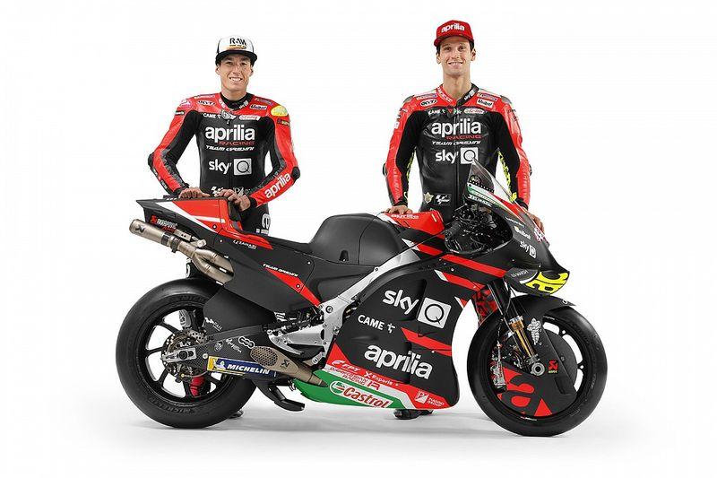 Aprilia presenteert MotoGP-team en bevestigt tweede rijder