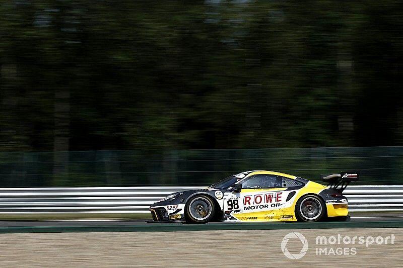 BES: la Porsche #98 del ROWE Racing in pole a Barcellona