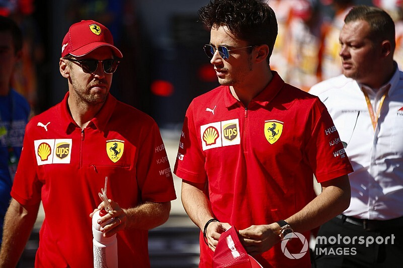 """Leclerc: """"La confianza en Seb no cambia"""""""