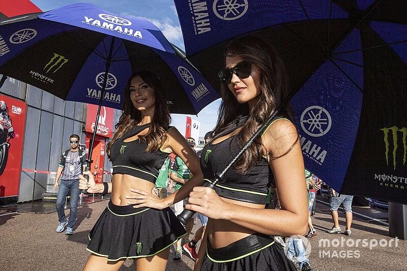 A MotoGP gyönyörű rajtrácslányai Aragonból