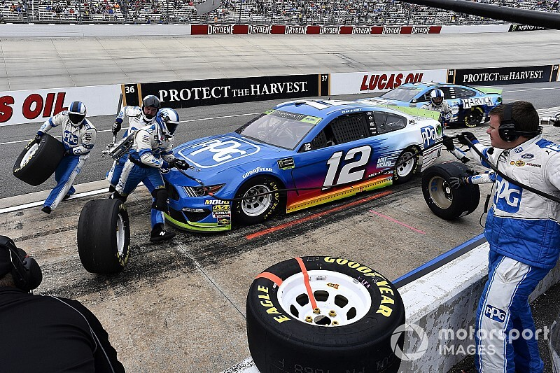 Team Penske shakes up pit crews on Cup Series playoff teams