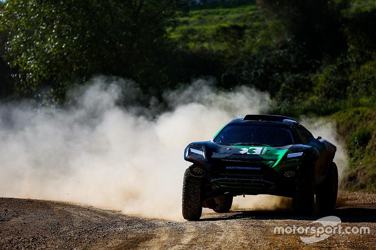 """El coche de la Extreme E """"estará"""" en el Dakar 2020"""