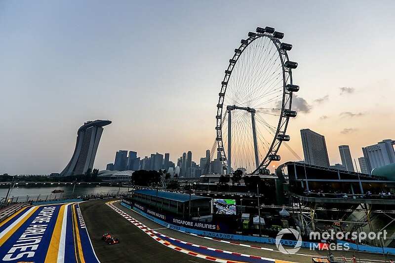 Live: Follow Singapore GP qualifying as it happens