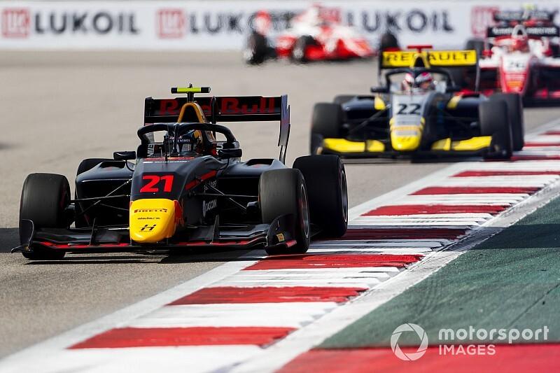 FIA F3ソチレース2:ヴィップスが今季3勝目。日本勢はポイント獲得ならず